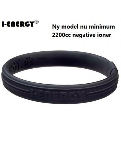 I-Energy Power Sport Sort med Sort logo