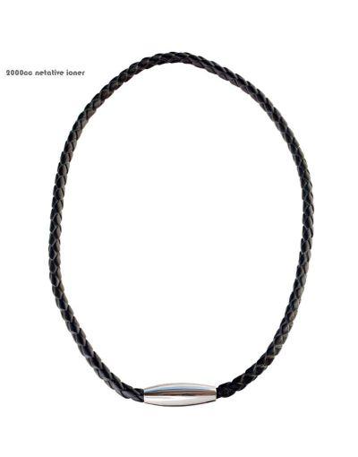 I-Energy Læder Power ion halskæde NO5