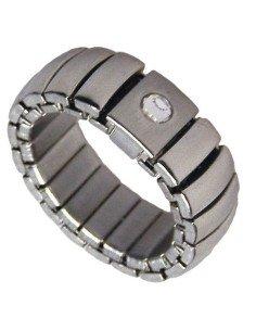 Flexibel rustfri stål finger ring 10mm Flex8