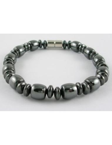 Hematite magnetarmbånd med 6mm beads