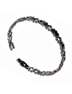 Magnetarmbånd I-Energy 4i1 Rustfri stål Sort 8232B