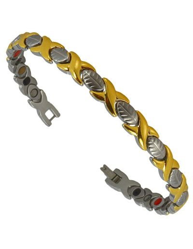 Magnetarmbånd I-Energy rustfri stål 5i1 model 8214