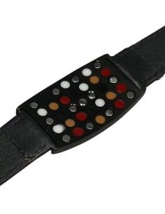 I-Energy 6i1 Magnetarmbånd læder med initialer