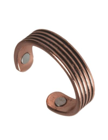 Kobber Ring 2x1500gauss CR01