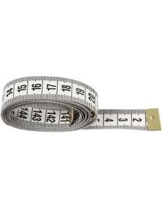 Målebånd hvid 150cm