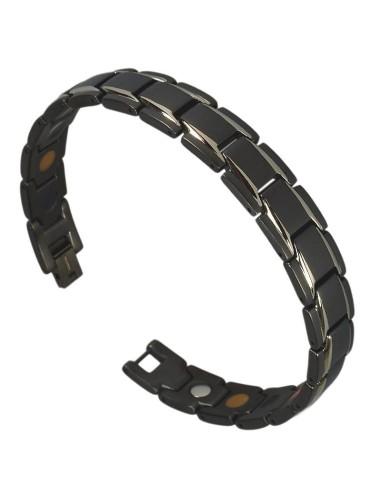 Magnetarmbånd I-Energy 5i1 Titanium Sort/Sølv 8262BS