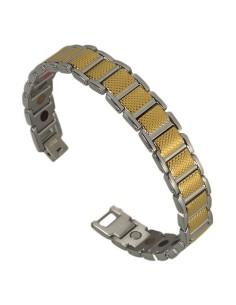 I-Energy rustfri stål 5i1 Magnetarmbånd 8371G