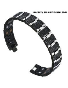I-Energy Dobbelt Power 5i1 Titanium armbånd TD41