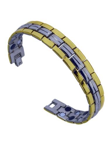 I-Energy Dobbeltpower stål 2i1 Magnetarmbånd Get06