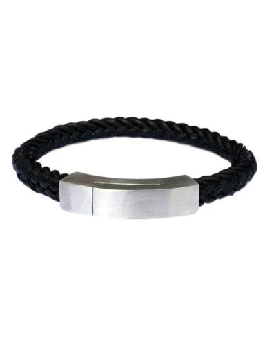I-Energy Power V3 magnetarmbånd flettet læder