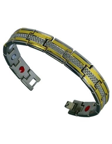 Magnetarmbånd 3i1 stål GET07
