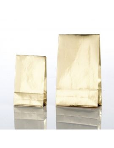 Gavepose Blank guld med lim luk