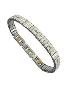 Flexibelt rustfri stål magnetarmbånd Flex15