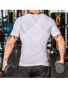 I-Energy Posture t-shirt med justerbar mave bælte
