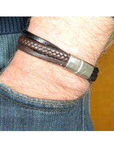 I-Energy Læder magnetarmbånd V5
