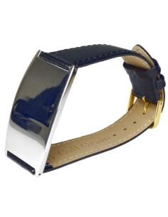 I-Energy 5i1 Mirror Steel sort læder magnetarmbånd model 8700 Sort