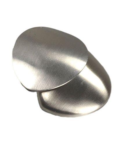 I-Energy Power Magnet hjerte Børstet stål
