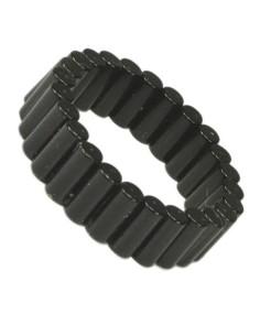 Power Mag Cylinder Magnet Ring Sortplatineret MAG02B