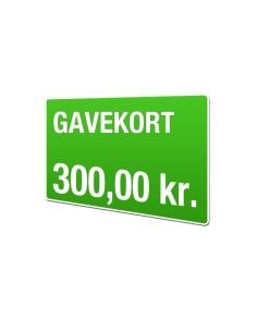Gavekort 300kr