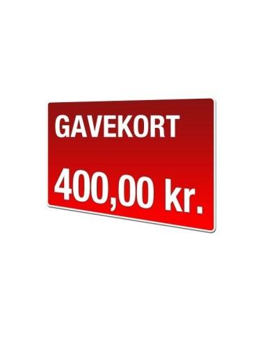 Gavekort 400kr