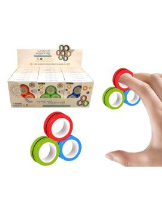 Anti Stress Magnet Ringe 3stk