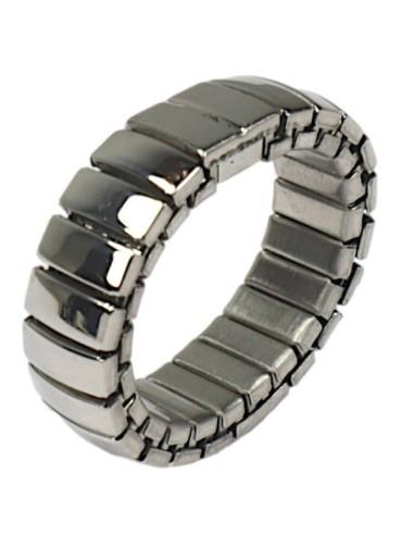 Flexibel rustfri stål finger ring 6mm ES05