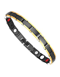 I-Energy 4i1 Rustfri stål magnetarmbånd/ankelkæde model 8218 BG