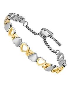 I-Energy 4i1 Rustfri armbånd/ankelkæde sølv/guld EBS601 SG