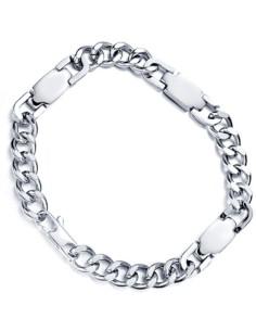 I-Energy magnet Rustfri armbånd/ankelkæde Sølv EBS601 SM