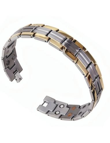 I-Energy Dobbelt Power 5i1 Titanium armbånd TD4